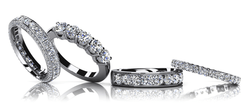 Four diamond rings