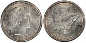 Barber Quarter coin