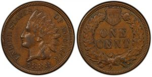 Indian Cent coin