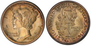Mercury Dime coin