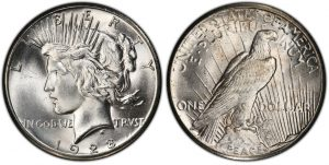 Peace Dollar coin