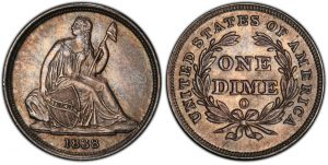 Seated Dime coin
