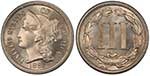 Three Cent Piece coin