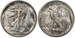 Walking Liberty Half coin