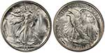 Walking Liberty Half coin